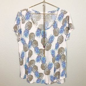 Lucky Brand Pineapple Top
